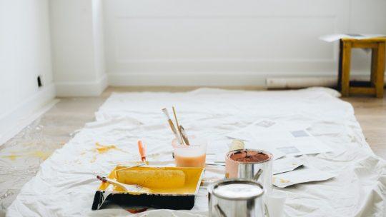 peindre une chambre